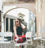 Eyewear, Sitting, Shoulder, Vision Care royalty free stock image