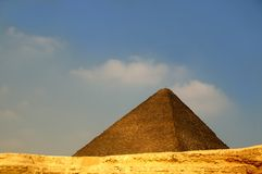 eygpt πυραμίδα Στοκ φωτογραφία με δικαίωμα ελεύθερης χρήσης