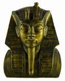 Eygptian Head. Bronze Plaster cast Stock Image