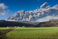 Eyjafjallajokull Fotografia de Stock