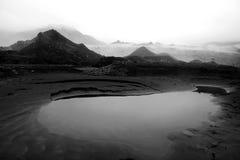 Eyjafjallajokull glaciär i iceland royaltyfri bild