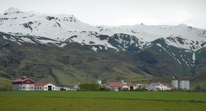 Eyjafjallajokull-Vulkan, Island lizenzfreies stockfoto