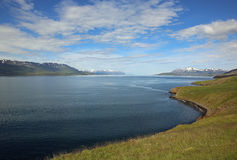 Eyjafjordur στην Ισλανδία Στοκ Φωτογραφίες