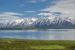 Eyjafjordur fjord, Iceland Royalty Free Stock Image