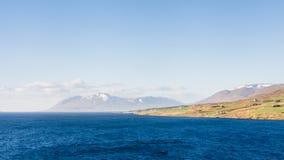 Eyjafjordur Landscape Royalty Free Stock Photography