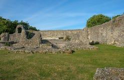 Eynesford-Schloss, Norman Ruin Lizenzfreie Stockfotos