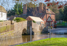 Kent countryside uk Eynsford crossing Royalty Free Stock Photos