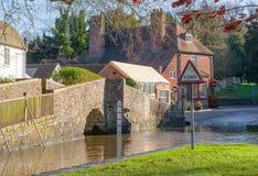 Kent countryside uk Eynsford crossing Royalty Free Stock Photos