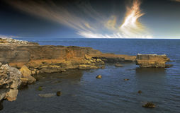 Eype στο Dorset Στοκ Εικόνες