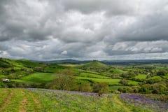 Eype-Abstiege übersehen, Dorset stockbilder