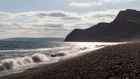 Eype Beach Dorset Stock Photos