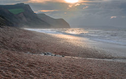 Eype dans Dorset Photos stock