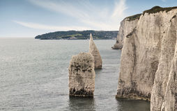 Eype in Dorset Royalty-vrije Stock Foto