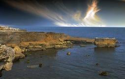 Eype i Dorset Arkivfoto