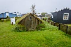 Eyrarbakki em Islândia fotos de stock