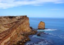 Eyre halvö, dramatiskt kust- landskap Royaltyfria Foton