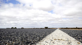 Eyre Highway, Nullarbor Plain Stock Photo