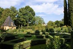 Eyrignac french gardens Stock Image