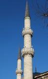 eyup σουλτάνος μουσουλμανικών τεμενών μιναρών της Κωνσταντινούπολης Στοκ Εικόνες