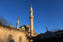 Eyup Mosque in Istanbul. Royalty Free Stock Photography