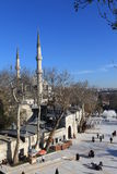 Eyup Mosque in Istanbul. Royalty Free Stock Photos