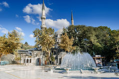 Eyup Sultan Mosque in Istanbul,Turkey Stock Photos