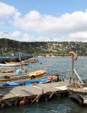 eyupistanbul port Royaltyfri Fotografi