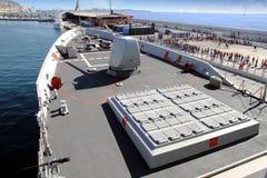 ` EZ du destroyer F-104 MENDEZ NUÃ Images libres de droits