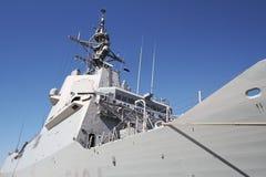 ` EZ du destroyer F-104 MENDEZ NUÃ avec le système d'égide Photos libres de droits