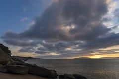 Ezaro La Coruna, Spain. Coast of Ezaro La Coruna, Spain Royalty Free Stock Image