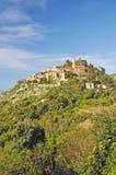 eze Франция французский riviera стоковые изображения rf