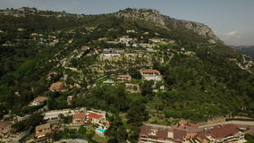 Eze-Antenne stock footage