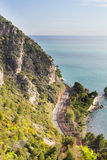 Eze coastline Royalty Free Stock Image