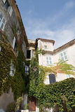 Eze, France Apartment. Old house and walls in the village of Eze, France Stock Photography