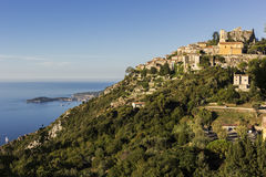 Eze in France. Eze - historic village in France Royalty Free Stock Photography