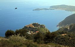 Eze on the French Riviera Royalty Free Stock Photos