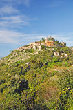 Eze,French Riviera,France. The picturesque medieval village of eze near monaco,french riviera,cote d`azur,france Royalty Free Stock Images