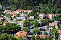 Eze-le-by Royaltyfri Bild