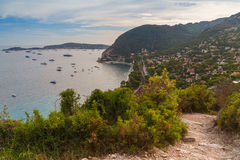 Eze-sur-Mer, France. Royalty Free Stock Images