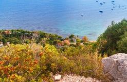 Eze-sur-Mer, France. Stock Images