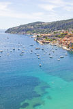 Eze-sur-mer, south of France Royalty Free Stock Photos