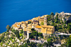 Eze village. In french riviera Stock Images
