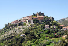 Eze village Stock Photo