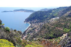 From Eze Village Royalty Free Stock Photo