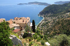 Eze village. France. Stock Photography
