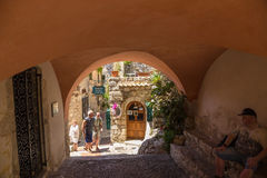 Eze-Village, France3 Royalty Free Stock Photography