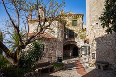 Eze Village in France Royalty Free Stock Photography