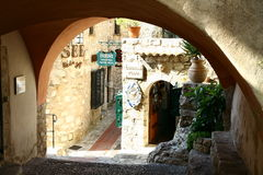 Eze village Royalty Free Stock Images