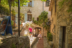 Eze-villaggio, France4 Immagine Stock