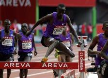 Ezekiel Kemboi  Areva meeting at the Stade de France Royalty Free Stock Photography